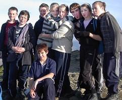 Group on the Summit of Snowdon, November 2006