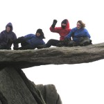 Summit of Glyder Fach, November 2004