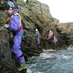 Sea level traverse - Anglesy, November 2001