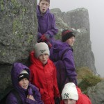 Summit of Tryfan, November 2002