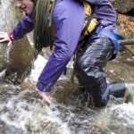 Dan in the Afon Ddu Gorge