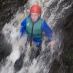 The slide at the Afon Ddu Gorge