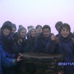 Snowdon Summit! Well done!
